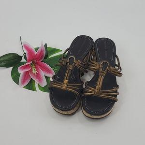 Donald J pliner sabir bronze sandal. Size 6.5
